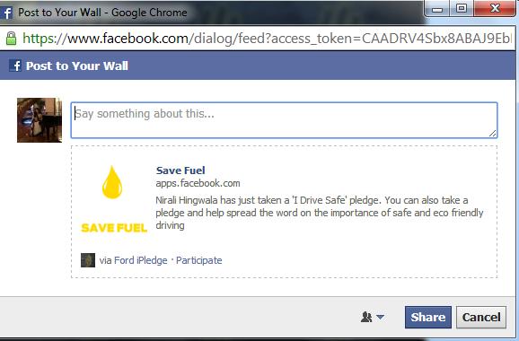 ford india ipledge campaign