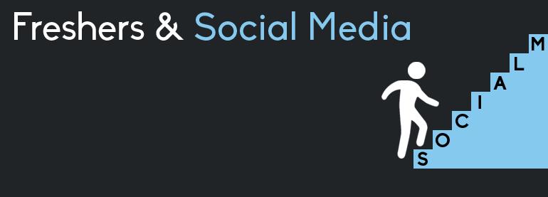 social media & fresher
