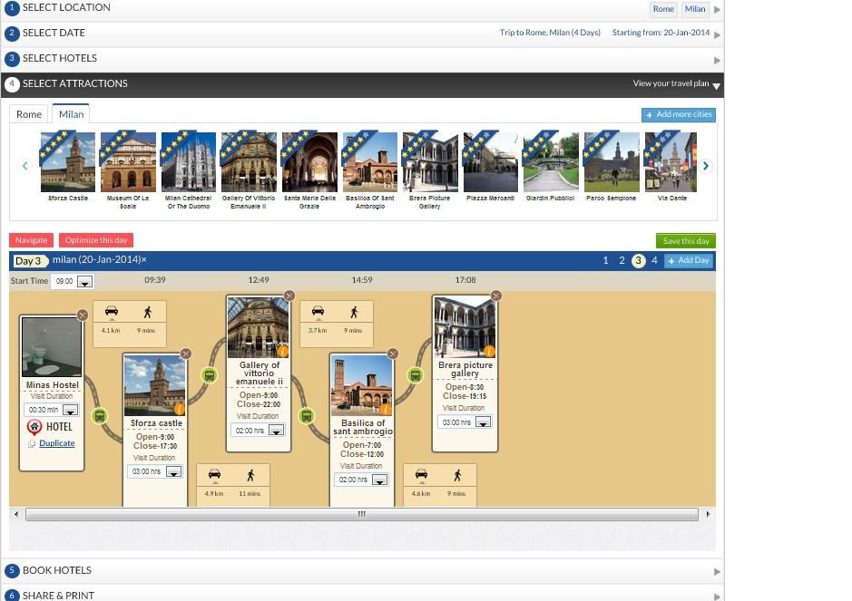 trip planner joguru.com