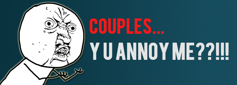 Couples annoy singles on social media