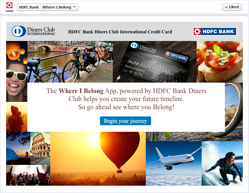 HDFC where I belong