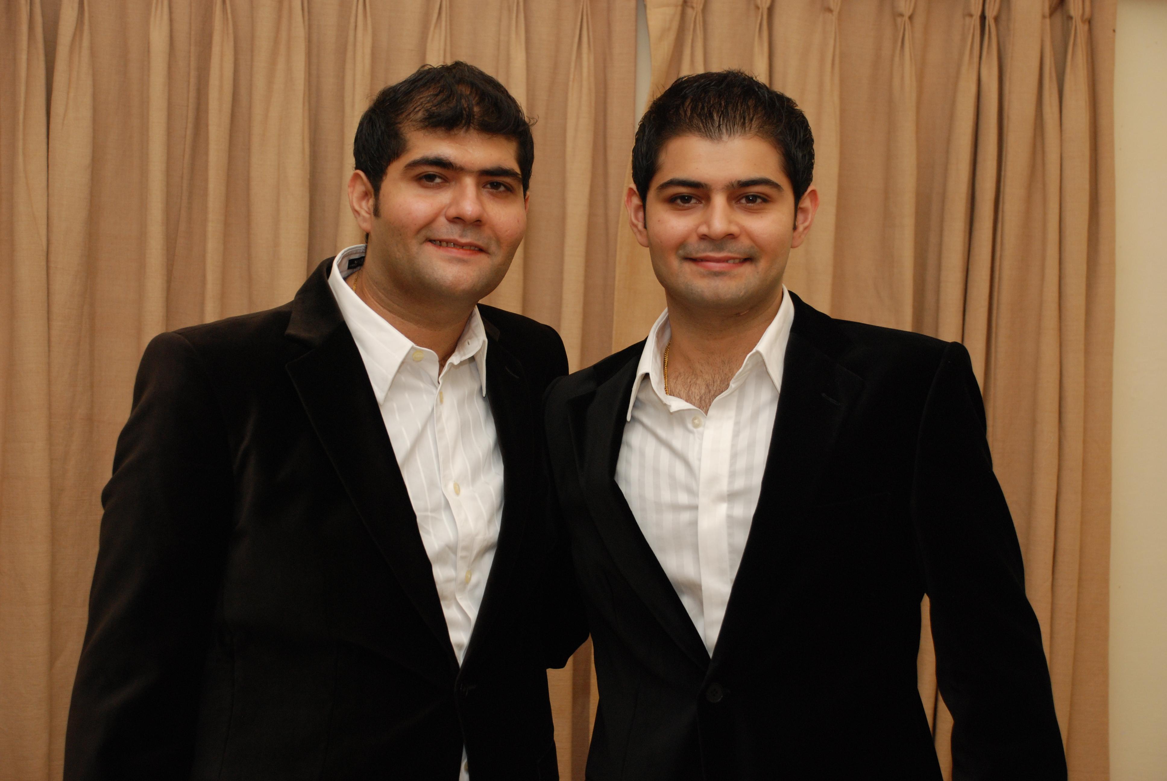 L-R Gaurav- Amit  Managing directors of Hammer