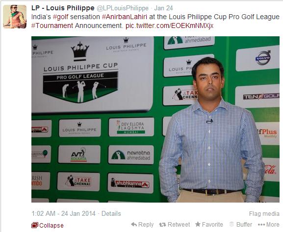 Louis Philippe Twitter Tweet