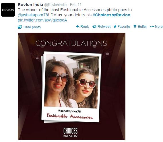 Revlon India Twitter Tweet