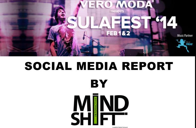 Vero Moda Sula Fest Social media report