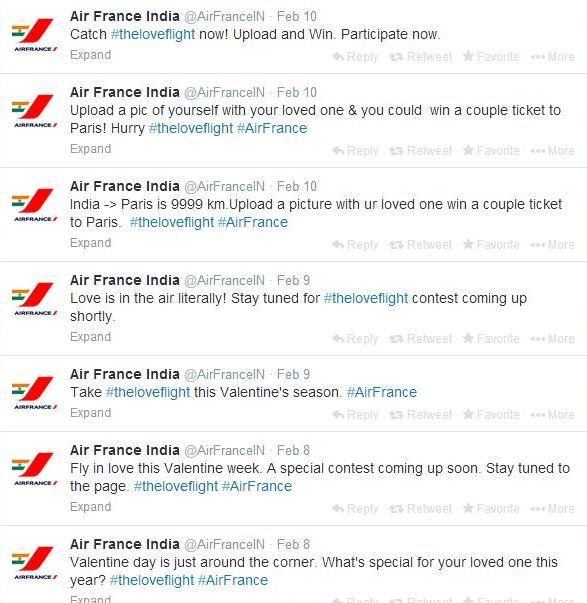 air france tweets