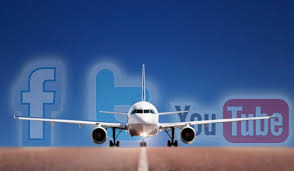airlines and social media