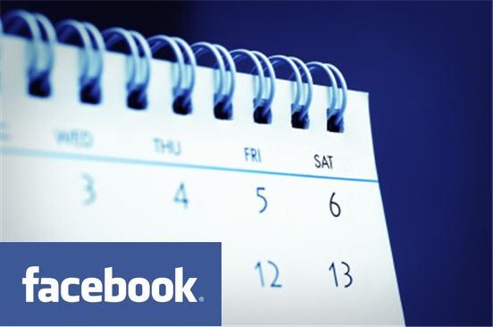 facebook calender