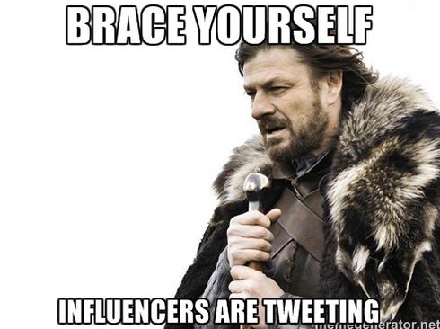 influencers are tweeting