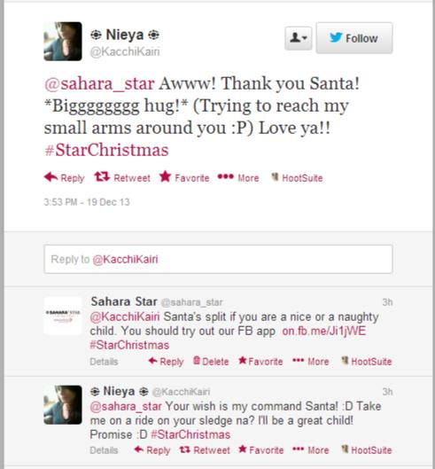 sahara star tweets