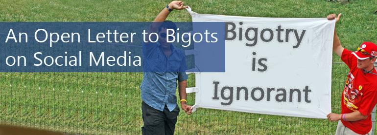 Social Media Bigots