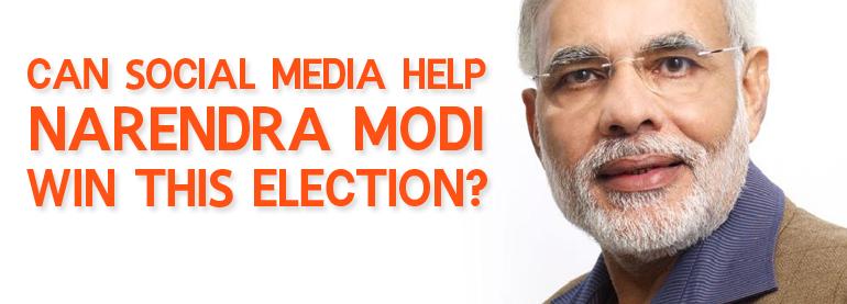Can Social Media Help Narendra Modi