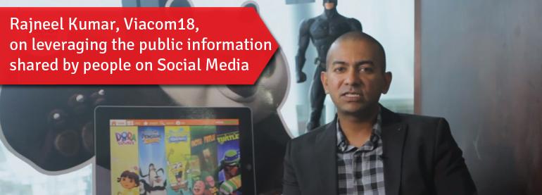 Rajneel Kumar, Viacom18, On Leveraging The Public Information Shared by People on Social Media