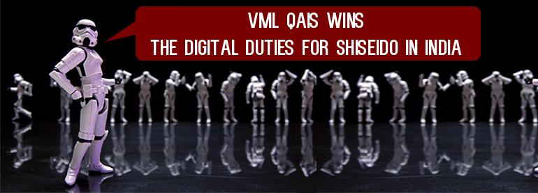 VML Wins Shiseido