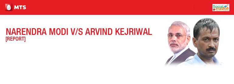 Report Narendra Modi Vs Arvind Kejriwal
