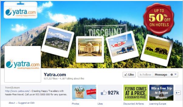 Yatra on Fb