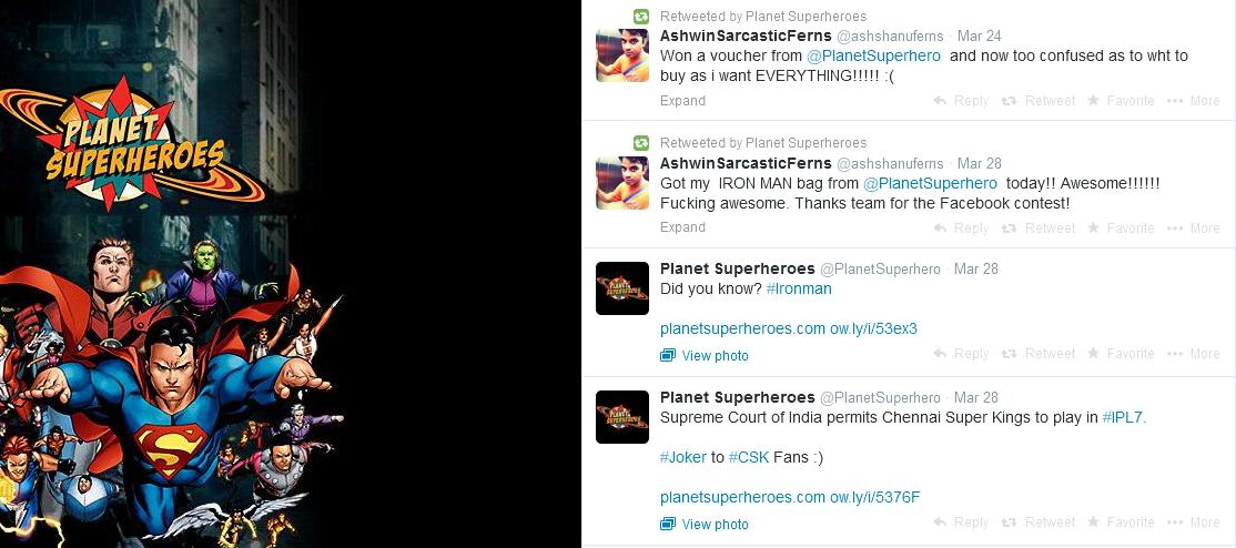 planet superheroes twitter