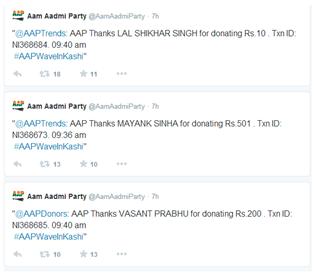 AAP tweets