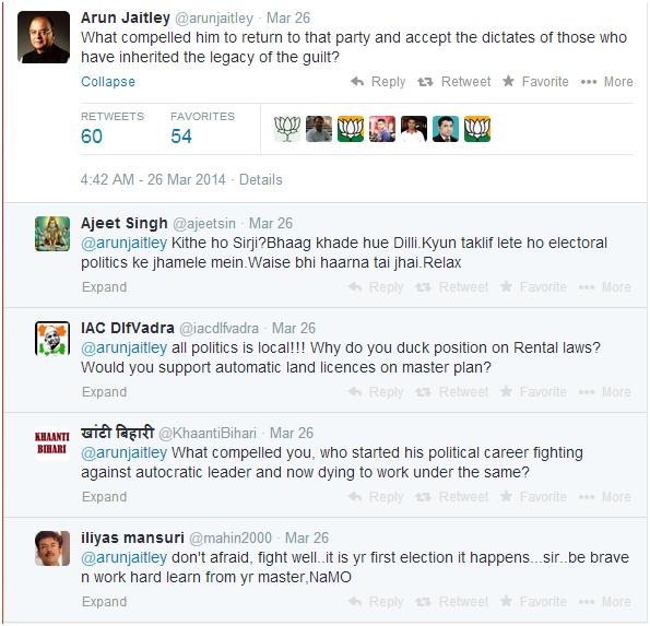Arun Jaitley Twitter 2