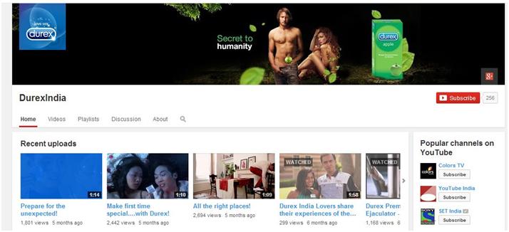 Durex - Youtube