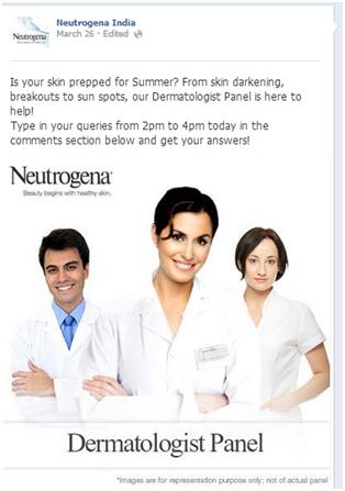 Neutrogena India FB