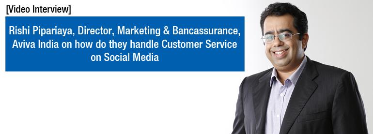 Rishi Piparaiya Customer Service on Social Media