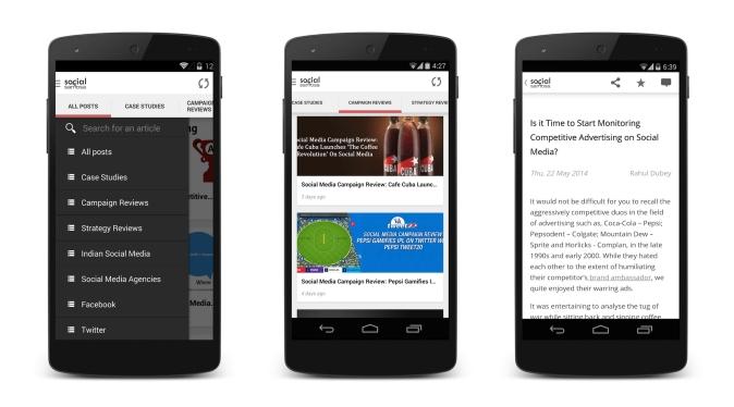 Social Samosa Android App