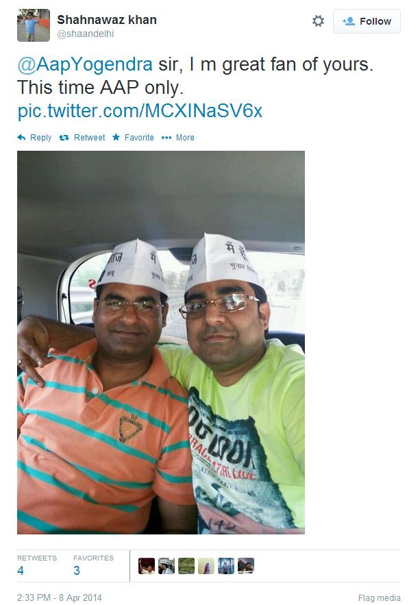 Twitter shaandelhi..