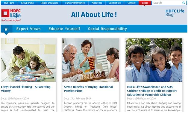 hdfc life - blog