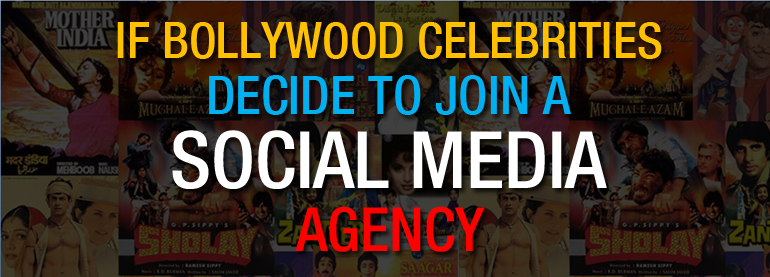 Bollywood Celebrities join social media agency