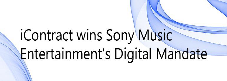 icontract sony music digital mandate