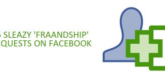 25 Sleazy 'Fraandship' Requests on Facebook