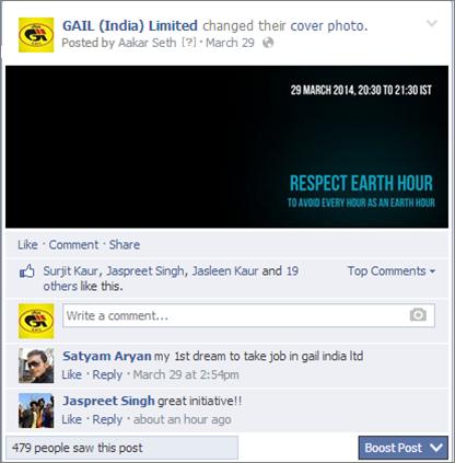 Social Media Case Study: Gail India