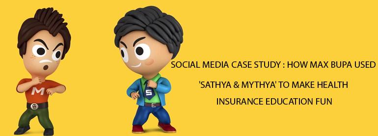 Life insurance social media case study