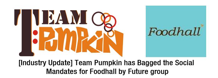 Team Pumpkin and food hall FI PNG
