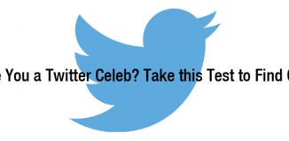 Twitter celeb Test