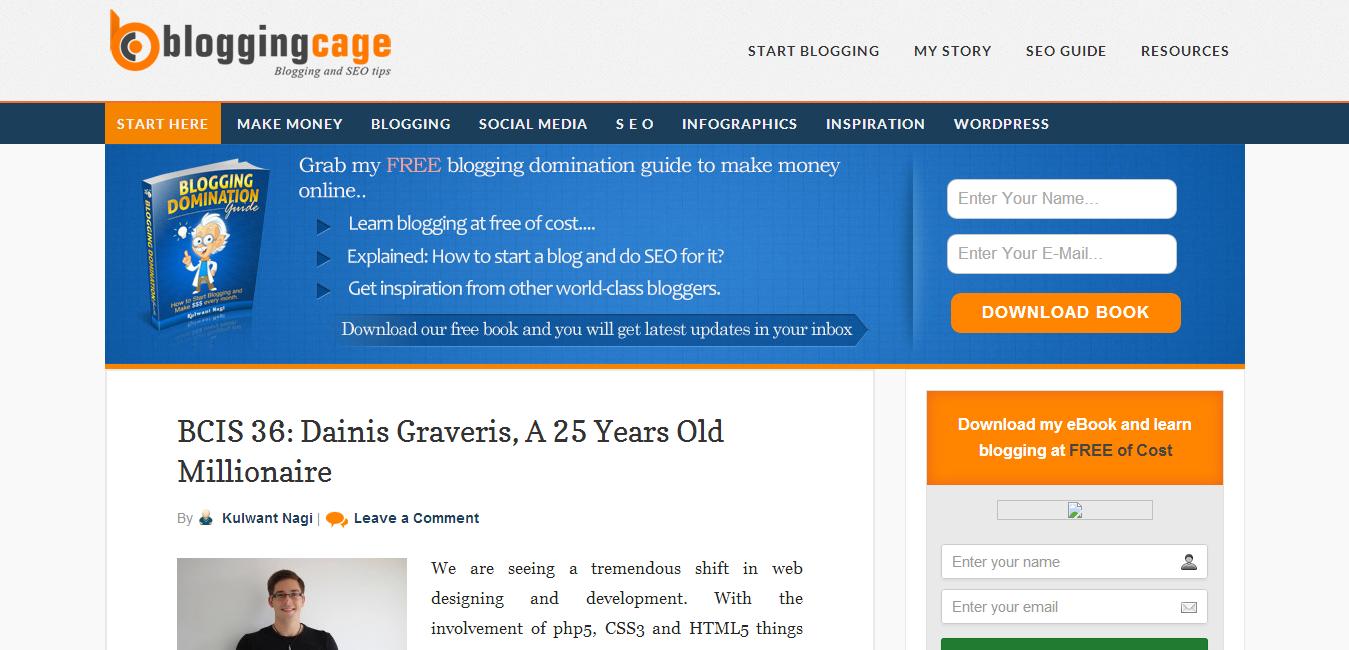Blogging Cage