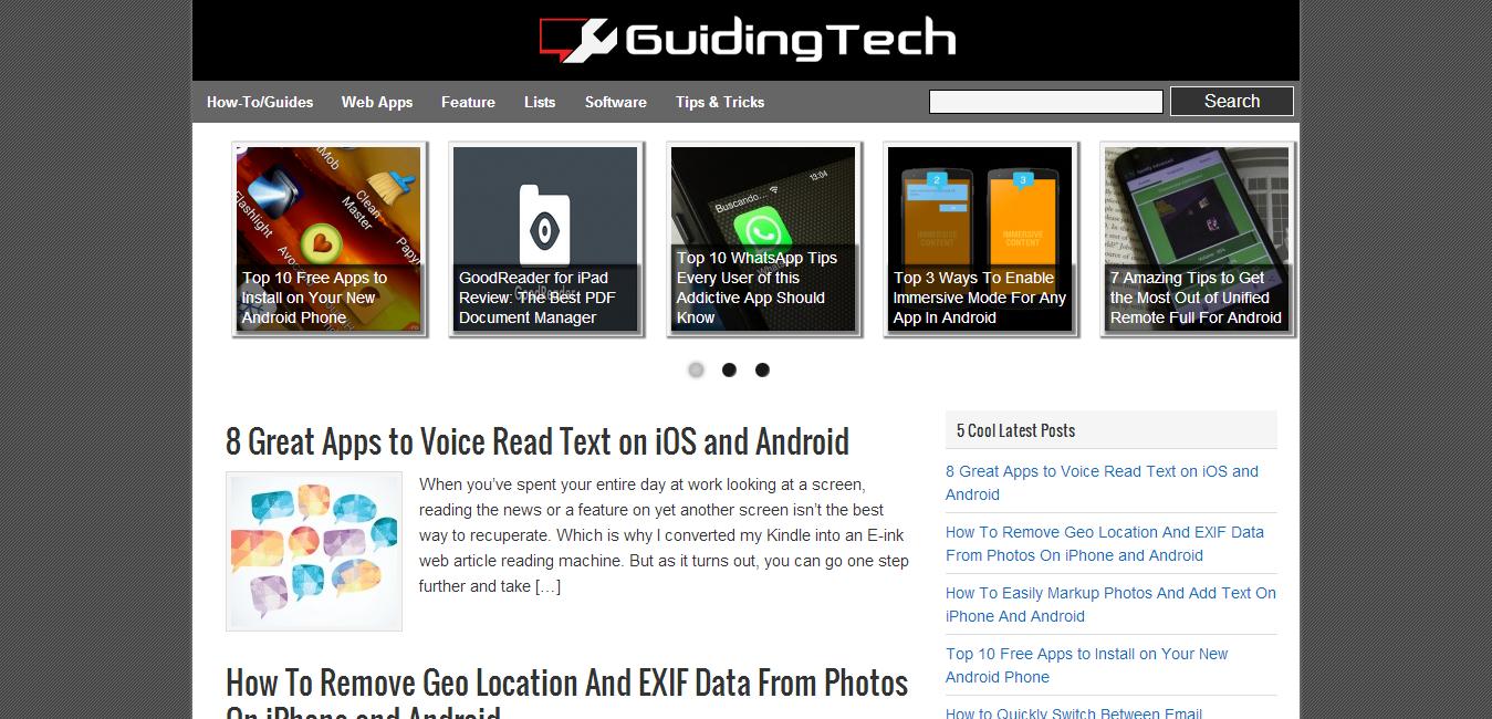 Guiding Tech