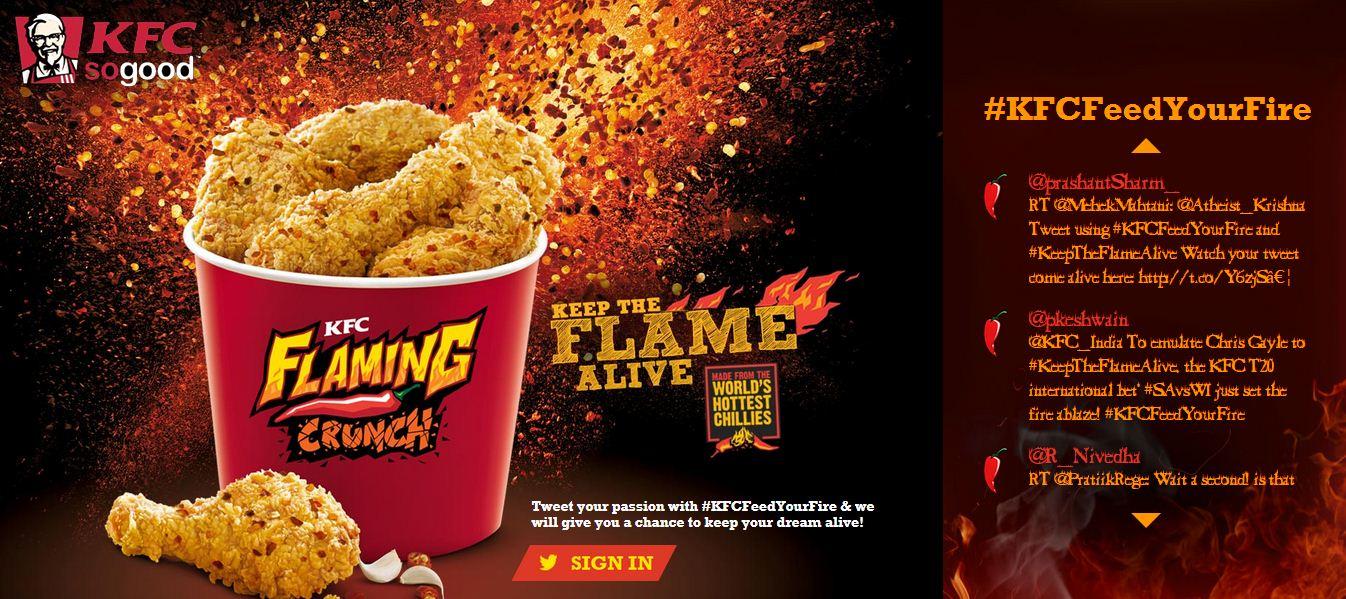 KFC Website
