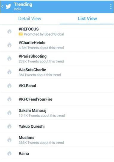 KFC trending