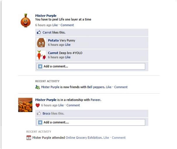 FB Wall