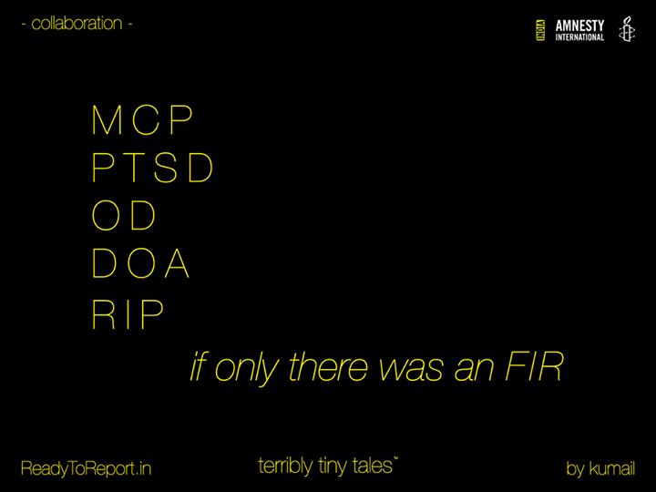 [ttt] [Amnesty] #ReadyToReport - Tale 02 - #FIR