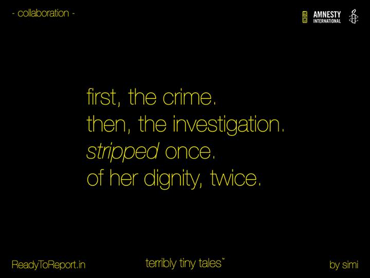 [ttt] [Amnesty] #ReadyToReport - Tale 04 - #stripped