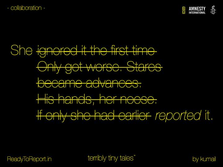 [ttt] [Amnesty] #ReadyToReport - Tale 05 - #report