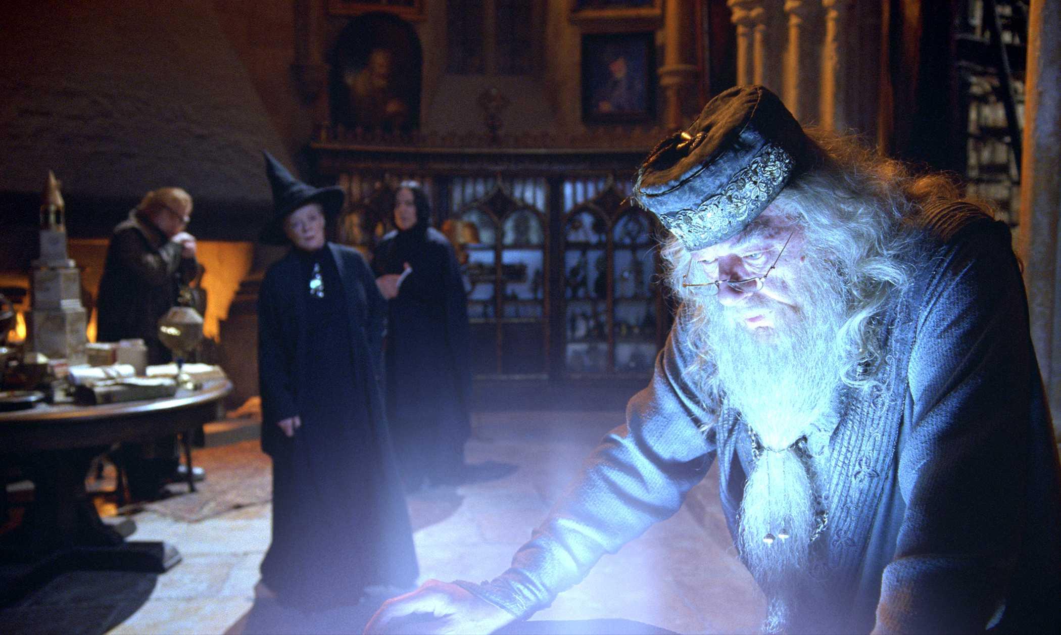 Dumbledore and Pensieve