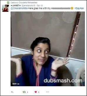 #SayAaa Dubsmash
