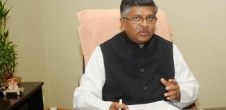 Ravi Shankar Prasad minister