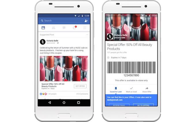 Facebook Offers 2