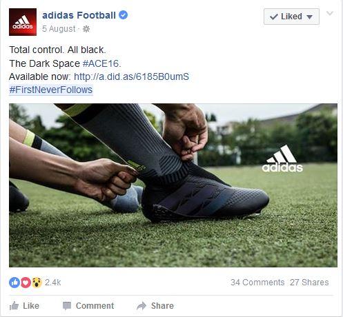 Adidas Dark Space