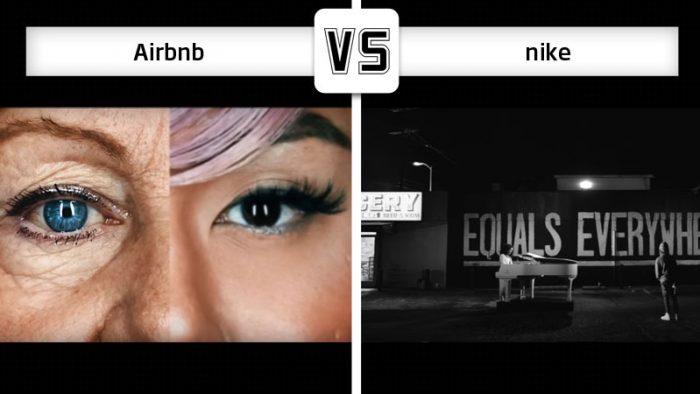Nike vs Airbnb